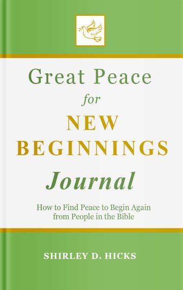 Great Peace for New Beginnings Journal