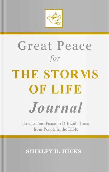 Great Peace for the Storms of Life Journal